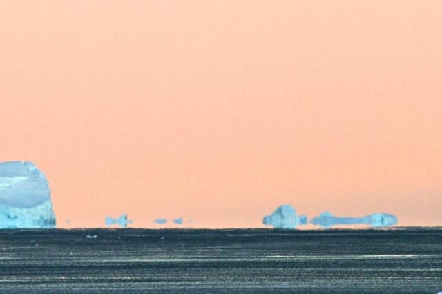 Iceberg mirage